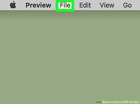 کاهش حجم pdf با استفاده از Review در سیستم عامل مک 2